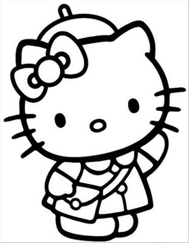 hello kitty printable hello kitty summer coloring page free printable coloring printable kitty hello