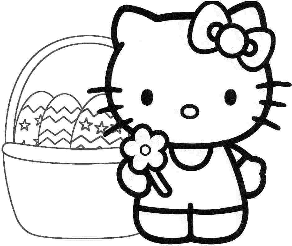 hello kitty printable hello kitty with heart balloons coloring page free kitty printable hello