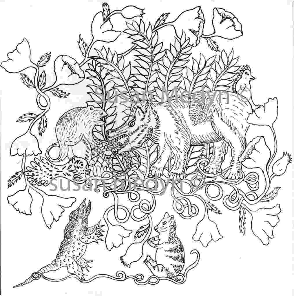 henri rousseau coloring pages a short demo of using overlapping to draw a jungle scene rousseau henri pages coloring