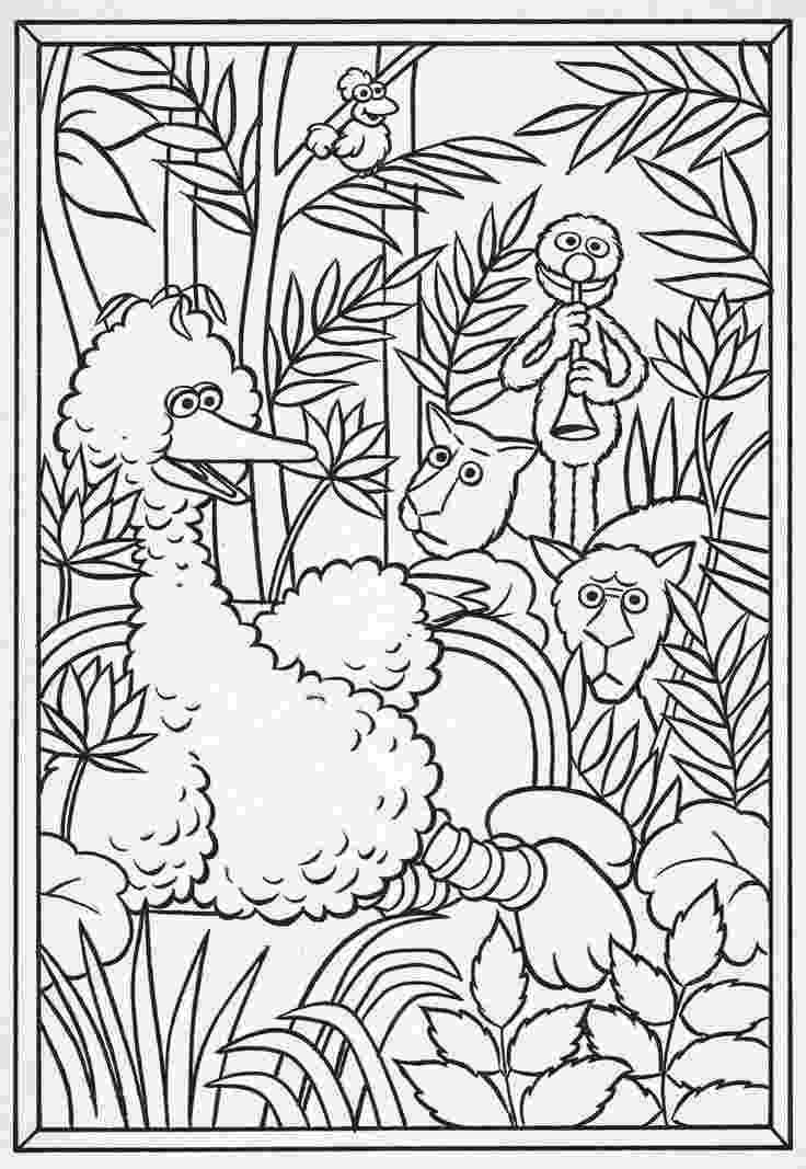 henri rousseau coloring pages henri rousseau coloring pages famous artwork coloring rousseau coloring henri pages