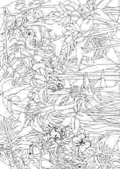 henri rousseau coloring pages quotfantastic jungles of henri rousseauquot coloring page rousseau coloring pages henri 1 1
