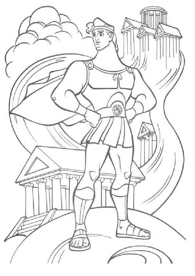 hercules coloring pages 22 best images about hercules coloring pages on pinterest pages hercules coloring