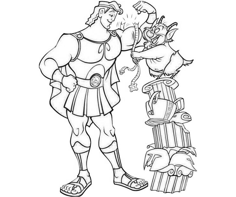 hercules coloring pages disney hercules drawing at getdrawingscom free for coloring pages hercules