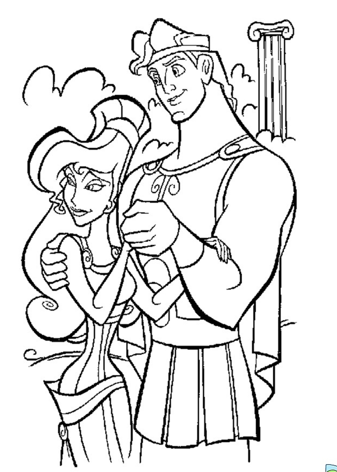 hercules coloring pages disney39s hercules coloring pages disneyclipscom pages coloring hercules