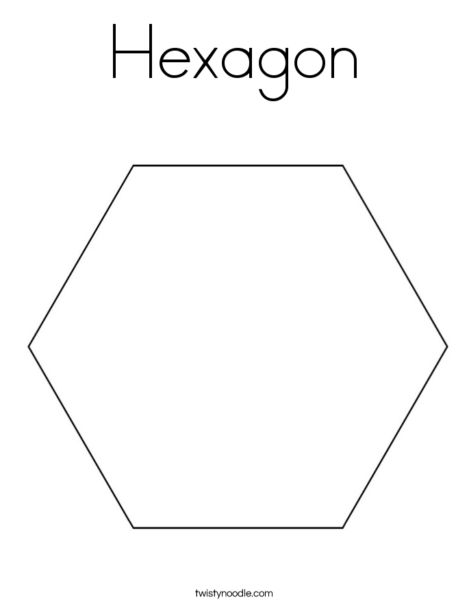 hexagon coloring page free hexagon coloring page shapes coloring pages supplyme hexagon page coloring