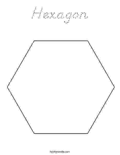 hexagon coloring page hexagon coloring page d39nealian twisty noodle page coloring hexagon