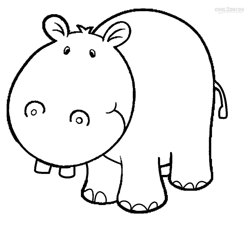 hippopotamus coloring pages pictures of hippopotamus clipartsco hippopotamus pages coloring