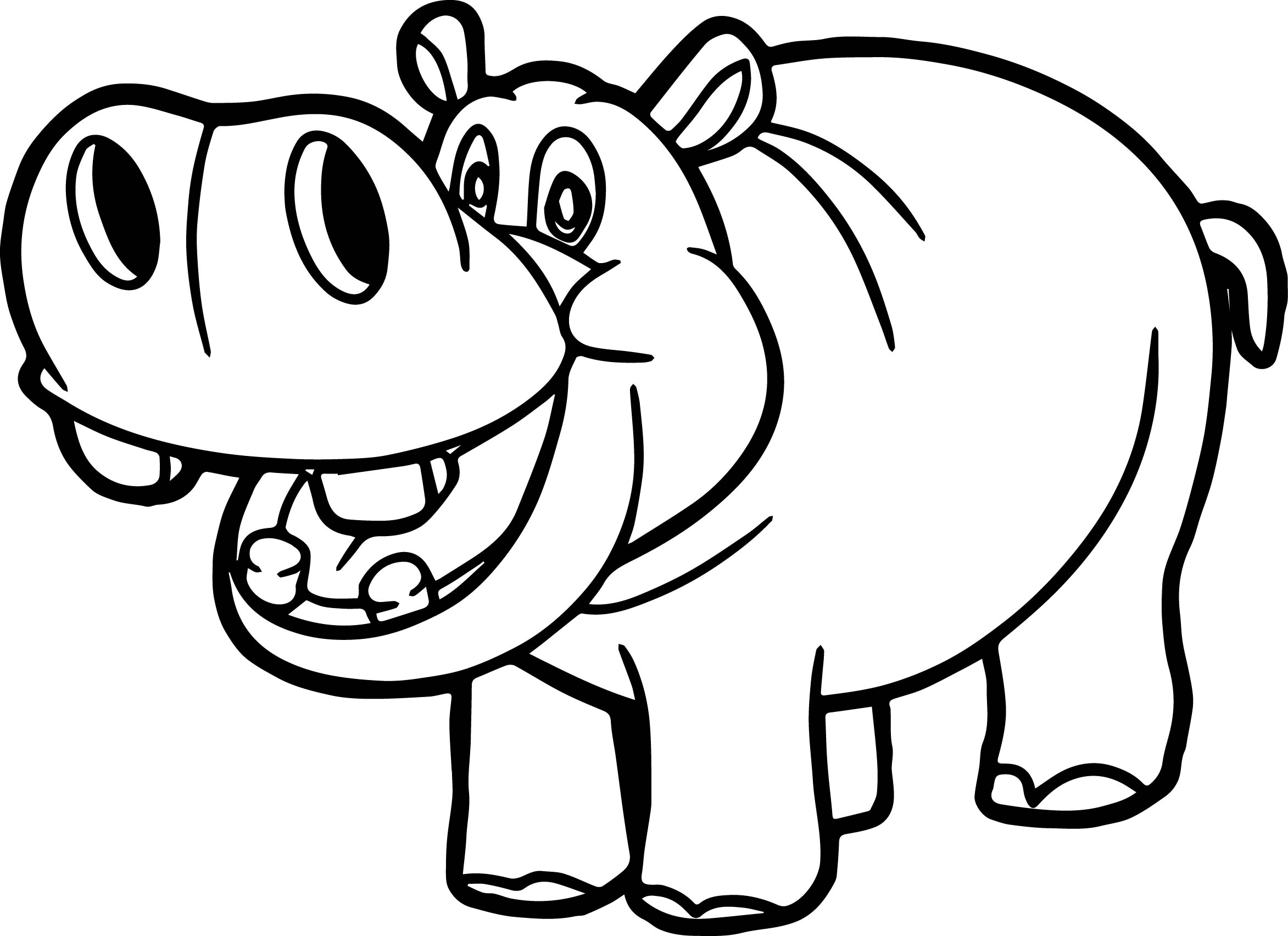 hippopotamus coloring pages printable hippo coloring pages for kids cool2bkids pages hippopotamus coloring
