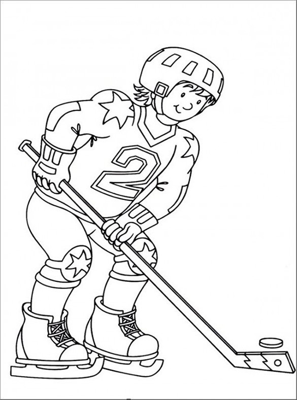 hockey coloring pages to print hockey coloring pages getcoloringpagescom hockey print to coloring pages