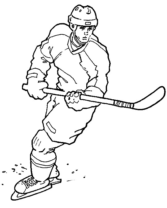 hockey coloring pages to print sports coloring pictures for kids coloring print pages hockey to