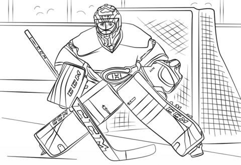 hockey goalie coloring pages es induk hoki goalie pages hockey coloring