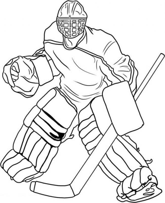 hockey goalie coloring pages free printable hockey coloring pages for kids cool2bkids pages goalie hockey coloring