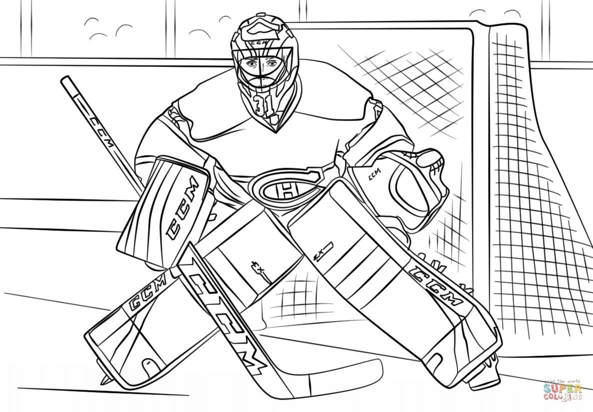 hockey goalie coloring pages print hockey goalie coloring pages coloring hockey pages goalie coloring hockey