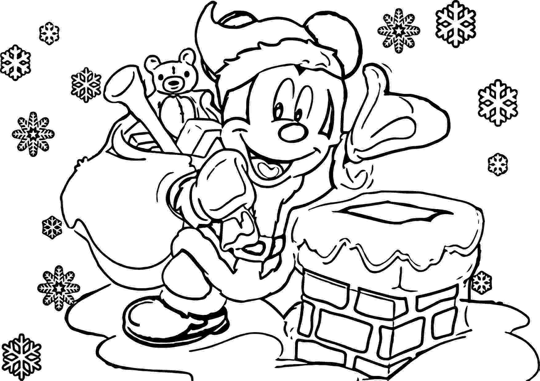holiday coloring pictures disney christmas coloring pages wecoloringpagecom pictures holiday coloring