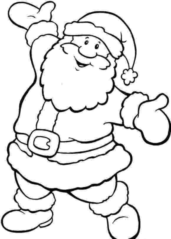 holiday coloring pictures happy santa free coloring pages for christmas christmas coloring pictures holiday