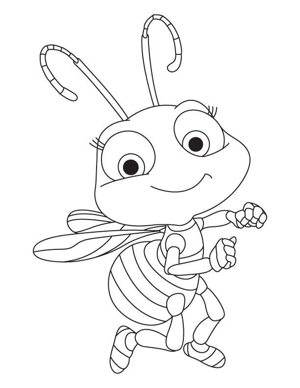 honey bee coloring page honey bee coloring pages surfnetkids page honey bee coloring