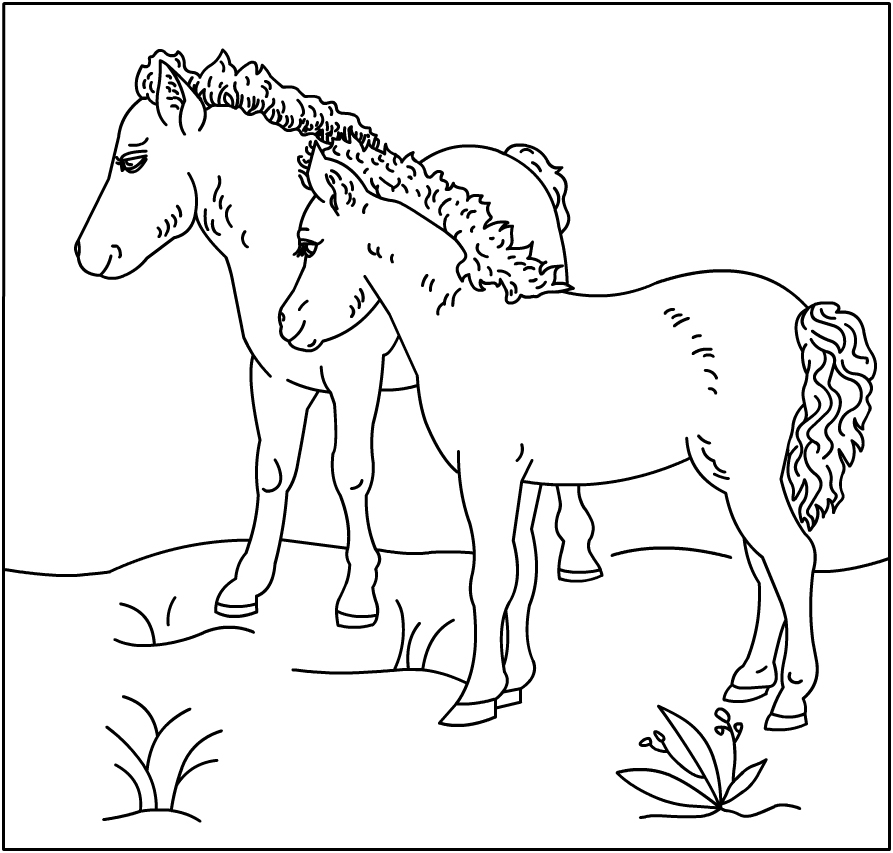 horse color sheets horse coloring pages for kids coloring pages for kids horse color sheets