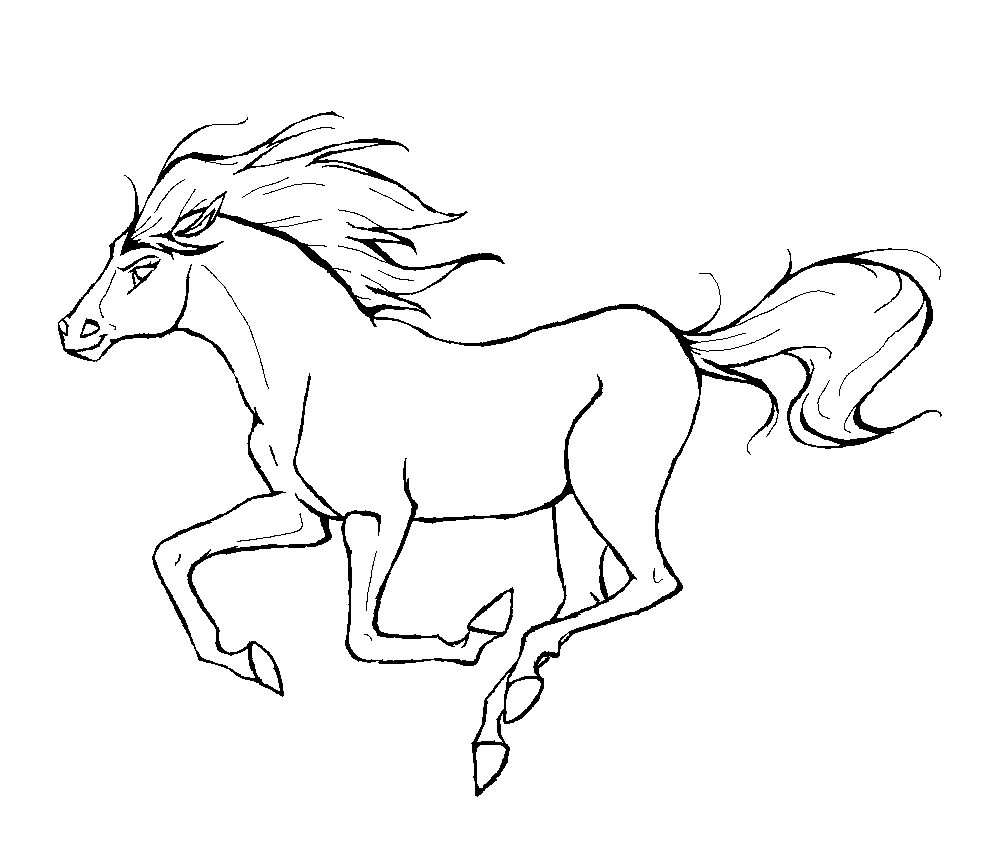 horse print out coloring pages free coloring pages horses print coloring horse pages out