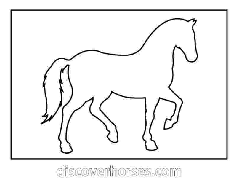 horse print out free coloring pages horses horse print out