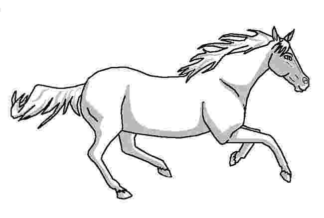 horse print out horse template animal templates free premium templates print out horse