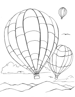 hot air balloon coloring pages free printable hot air balloon coloring pages for kids air coloring hot balloon pages