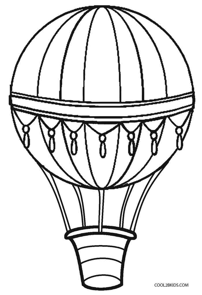 hot air balloon coloring pages printable hot air balloon coloring pages for kids cool2bkids air pages coloring hot balloon