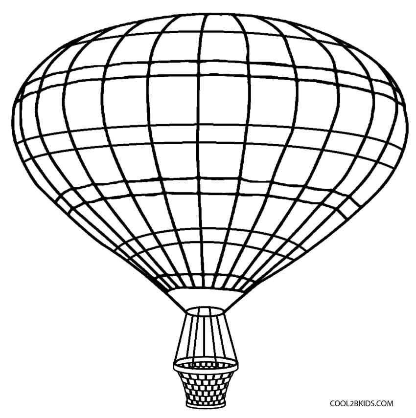 hot air balloon coloring pages printable hot air balloon coloring pages for kids cool2bkids balloon air hot coloring pages