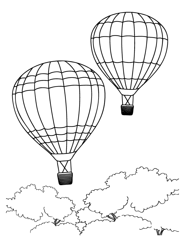 hot air balloon coloring pages printable hot air balloon coloring pages for kids cool2bkids balloon coloring hot pages air