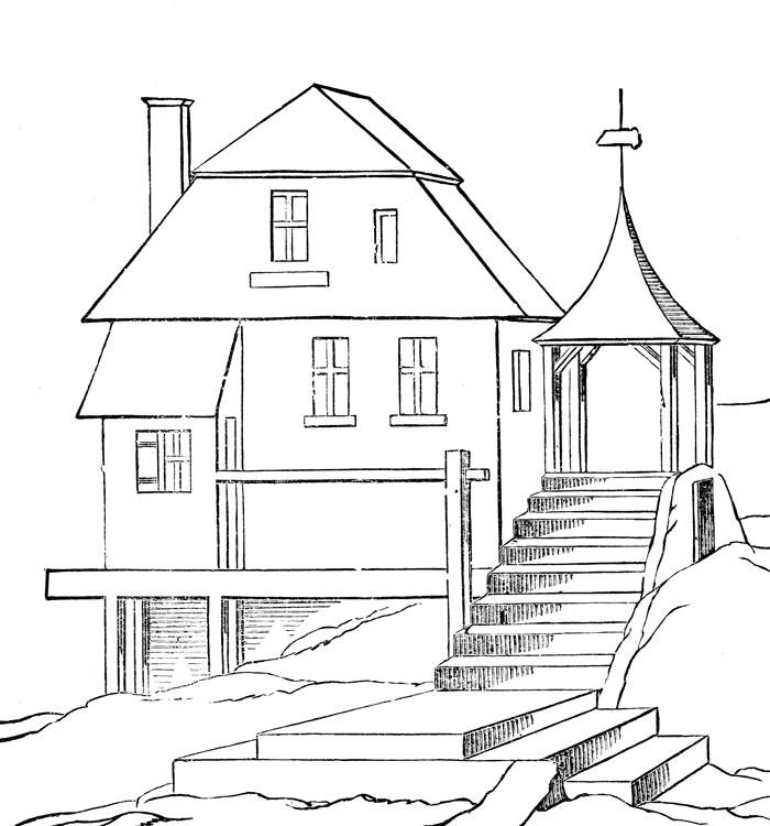 house coloring pages printable free printable house coloring pages for kids house coloring pages printable
