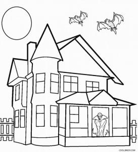 house coloring pages printable free printable house coloring pages for kids pages house coloring printable