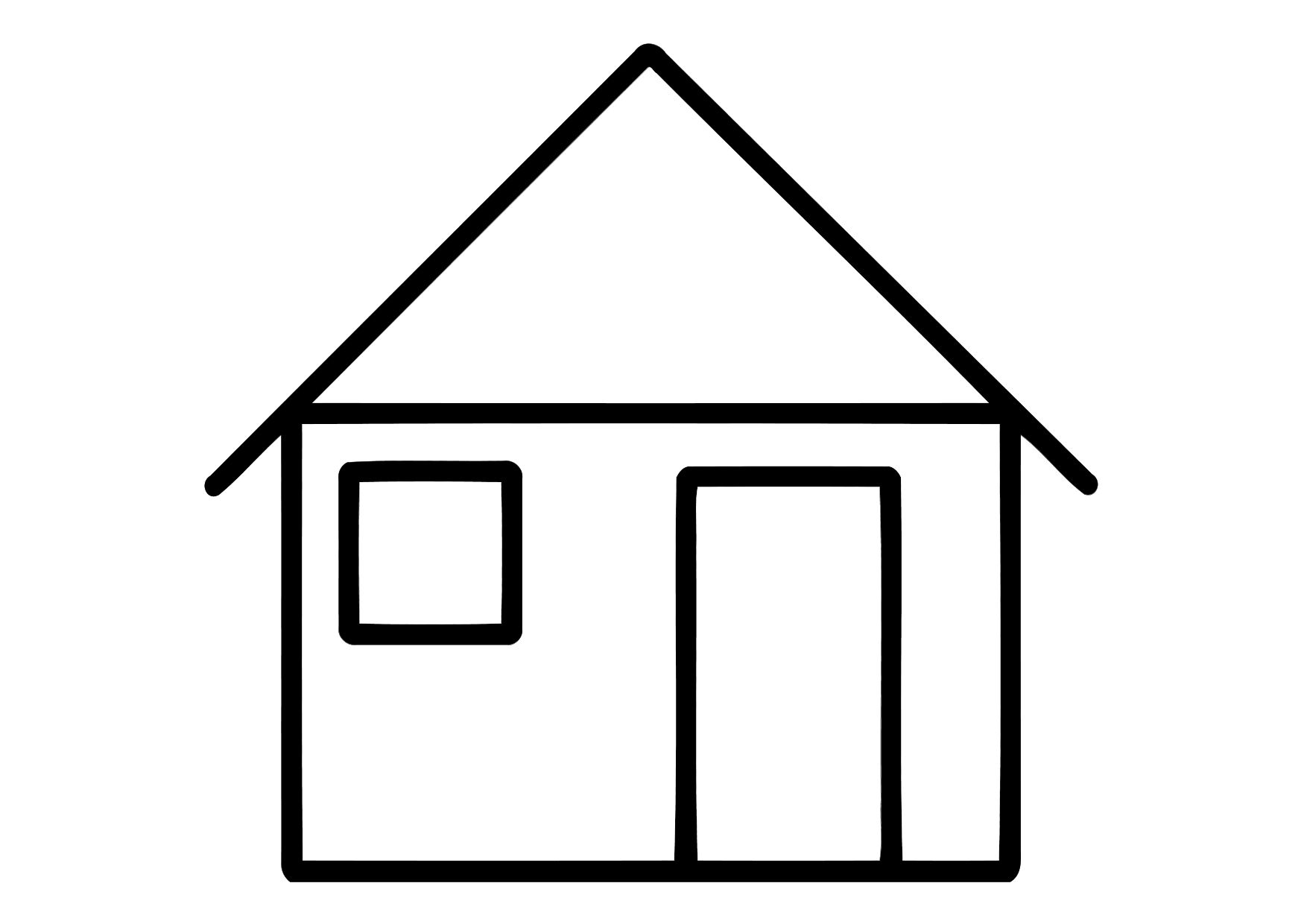 house coloring pages printable free printable house coloring pages for kids printable pages coloring house