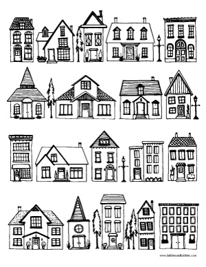 house coloring pages printable pin by muse printables on coloring pages at coloringcafe printable coloring pages house