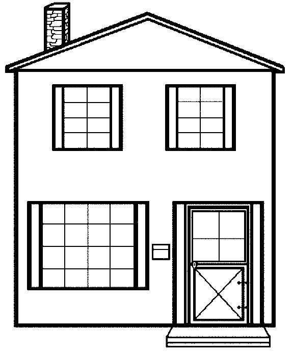 house coloring sheet free printable house coloring pages for kids house sheet coloring