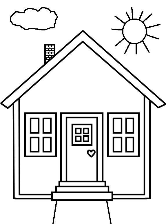 house coloring sheet free printable house coloring pages for kids sheet coloring house