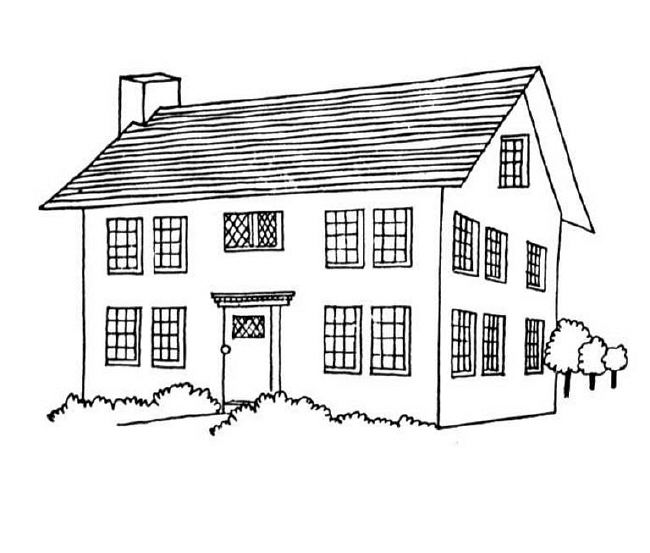 house coloring sheet house coloring pages the sun flower pages house sheet coloring