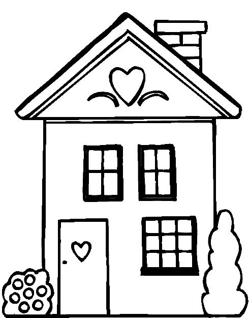 house coloring sheet people and jobs coloring pages for kids houses colouring coloring house sheet