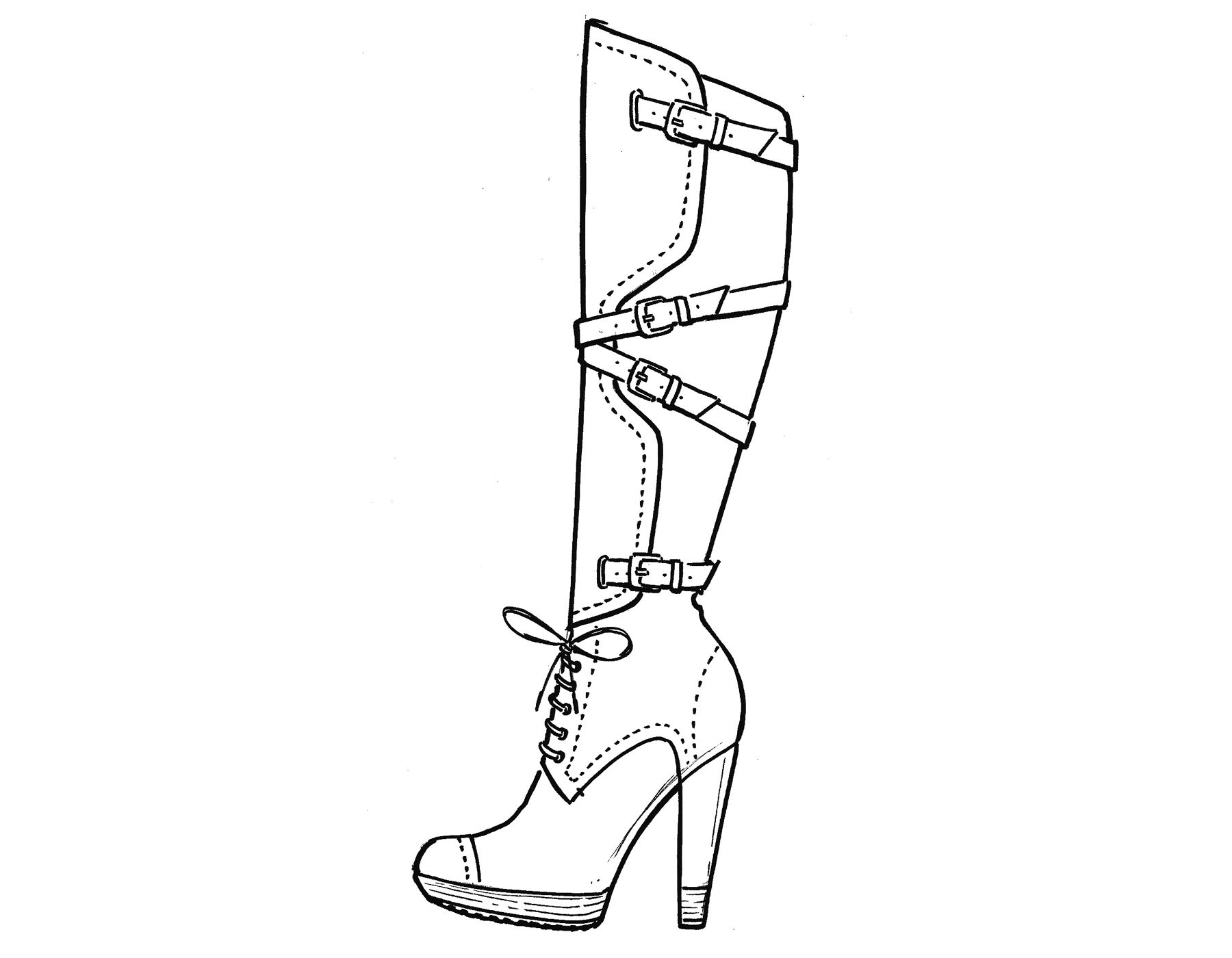 how to sketch high heels high heel drawing at getdrawingscom free for personal how to heels high sketch