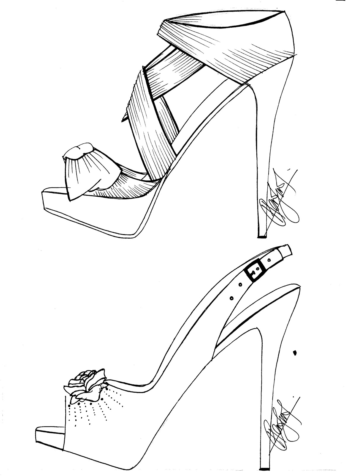 how to sketch high heels high heel shoe drawing google search shoe tattoos how to heels high sketch