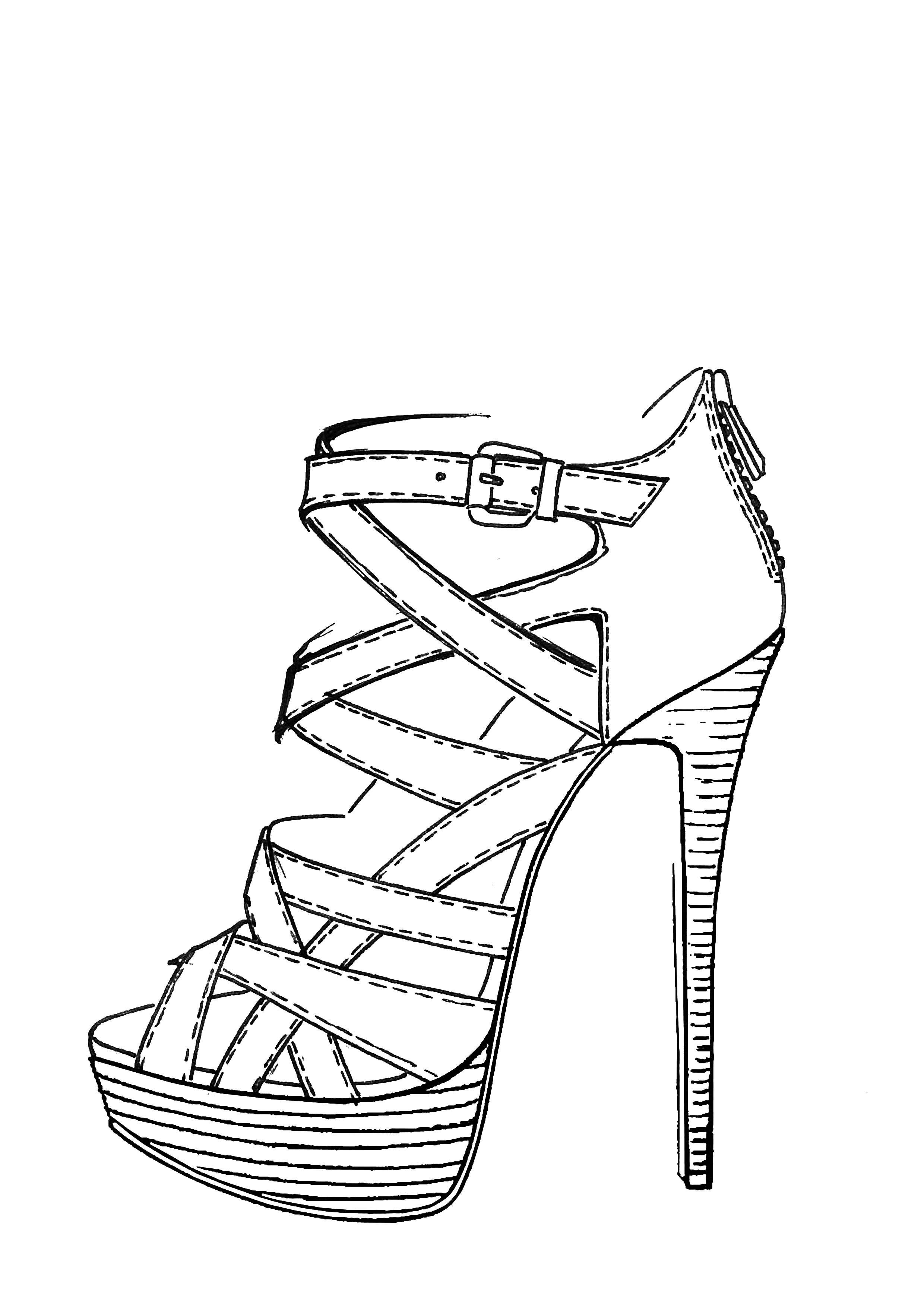 how to sketch high heels pixilart high heel shoes by danalana how sketch heels high to