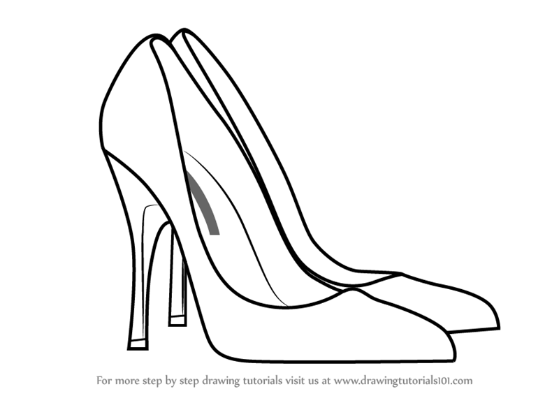 how to sketch high heels sandals drawing free download on ayoqqorg high how to heels sketch