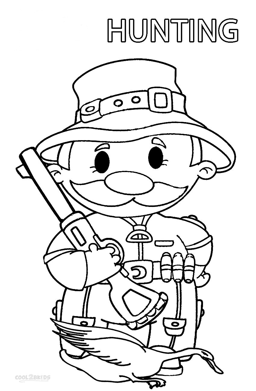 hunting coloring pages bow hunting coloring page free printable coloring pages coloring hunting pages