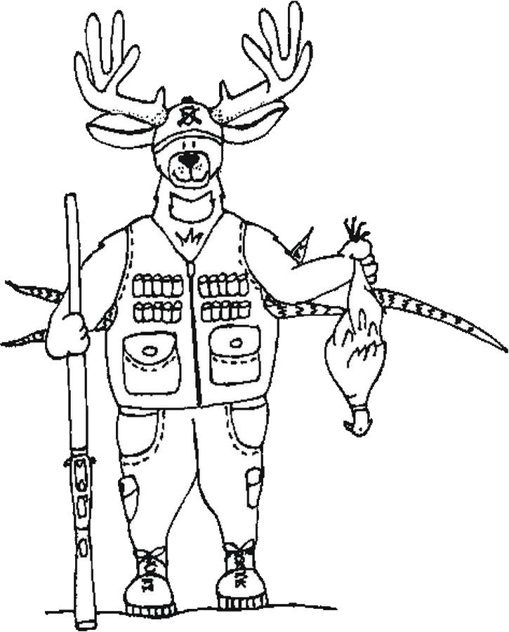 hunting coloring pages free printable hunting coloring pages for kids coloring pages hunting