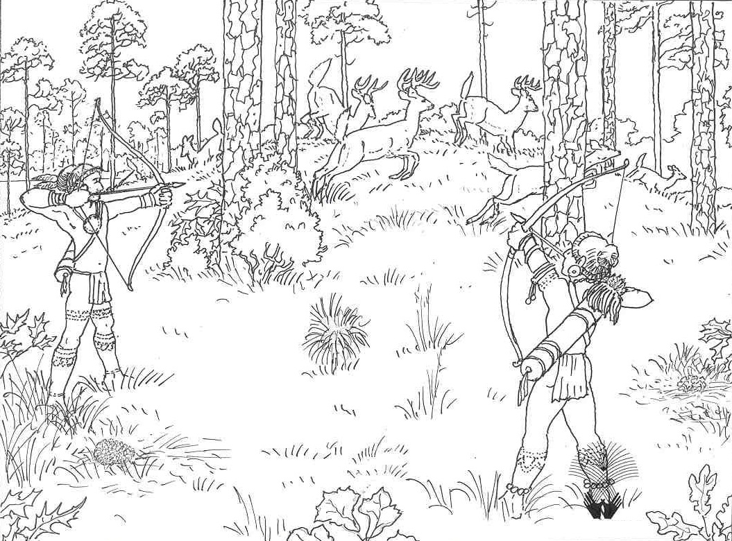 hunting coloring pages free printable hunting coloring pages for kids hunting coloring pages