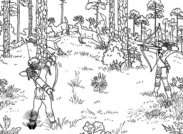 hunting coloring pages hunter shooting coloring sheet hunting pages coloring