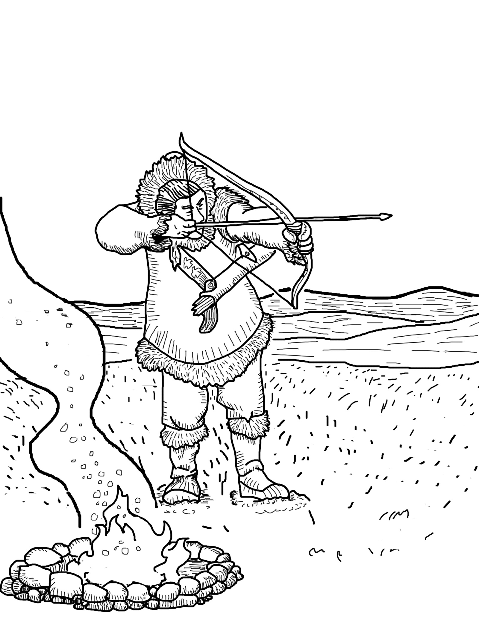 hunting coloring pages printable hunting coloring pages for kids cool2bkids pages hunting coloring