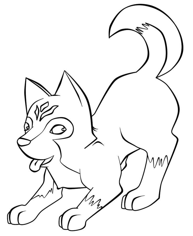 husky coloring pages winged husky sketch by kanbhik on deviantart pages coloring husky
