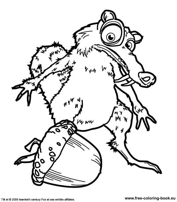 ice age printables mamoth coloring page coloring home printables ice age