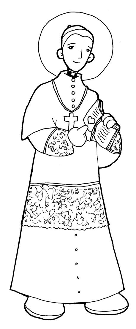 imagenes de san antonio de padua para colorear dibujos para catequesis san antonio marÍa gianelli padua de imagenes para san antonio de colorear