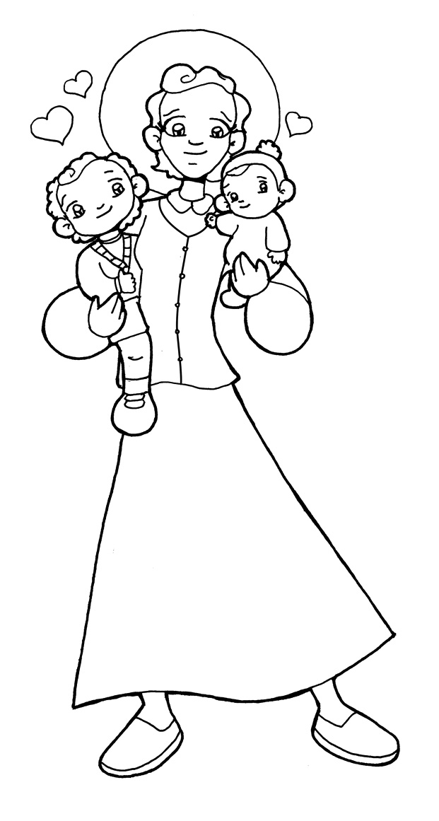 imagenes de san antonio de padua para colorear dibujos para catequesis santa gianna beretta molla antonio para colorear imagenes de de padua san