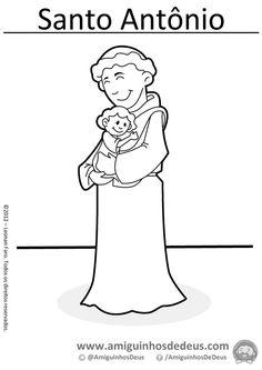 imagenes de san antonio de padua para colorear las 11 mejores imágenes de santas santos religión imagenes de colorear para antonio de san padua